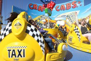 Crazy Cabs Amusement Ride