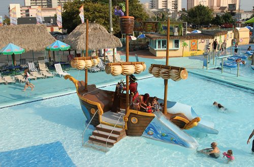waterpark kids play area