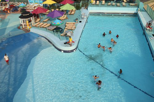 Ocean City Maryland Waterpark Aerial View