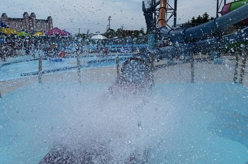 Aqualoop Ride Ending