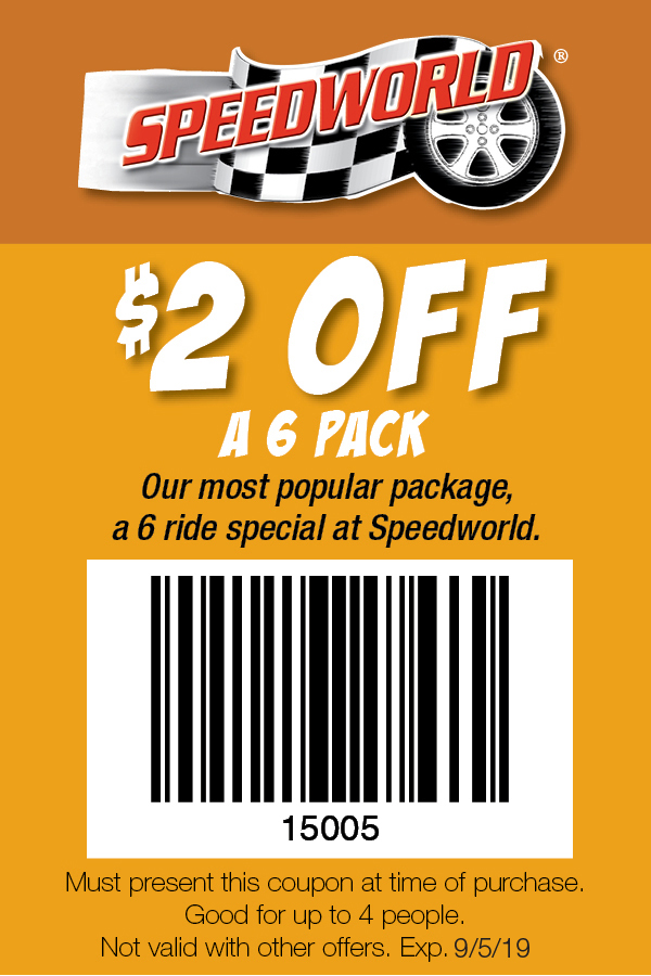 Speedworld Tracks Ocean City MD Coupon