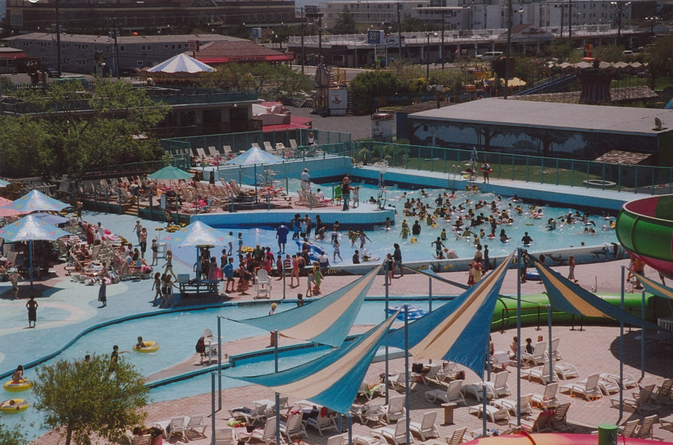 Wave Pool at Jolly Roger